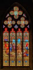 Eglise Saint-Jean - Français:   Saint Jean-Baptiste.  Vitrail signé F. Haussaire[1] et Léon Payan[2], 131 rue de Vaugirard, Paris, 1903.