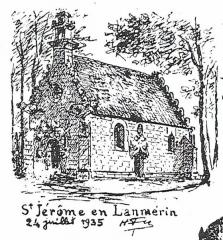 Chapelle de la Salle - Brezhoneg: Lanvilin. Sant-Jerom. Chapel. La Messelière