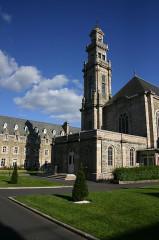 Couvent -  Lannion - Monastère Sainte Anne - Cour Intérieure