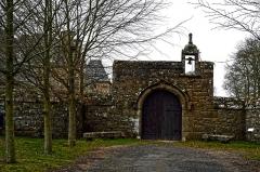 Château de Rosambô - Français:   Entrée sud du château de Rosanbo à Lanvellec dans le pays du Trégor (Côtes d\'Armor).