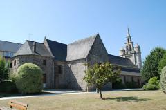 Eglise Saint-Jean-Baptiste - Deutsch: Lézardieux, Pfarrkirche Saint-Jean-Baptiste, Sicht auf die Nordseite