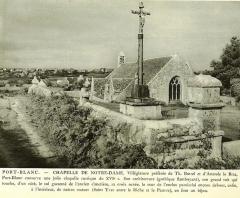 Chapelle de Port-Blanc - Brezhoneg: Perwenan. Porzh-Gwenn. Chapel. 1931