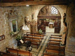 Chapelle de Port-Blanc - Brezhoneg: Perwenan. Porzh-Gwenn. Chapel. Nev