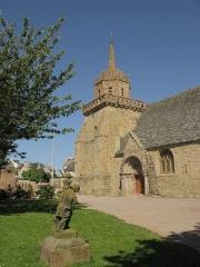Eglise Saint-Jacques - Nederlands:   Kerk in het centrum van Perros-Guirec, Bretagne