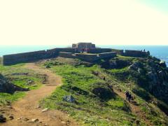 Fort de l'île aux Moines, dans l'archipel des Sept-Iles - Français:   enceinte