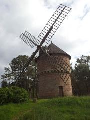 Moulin de la Lande du Crac -  Moulin à vent de la lande du Crac'h, Perros-Guirec (Bretagne, France)