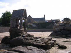 Oratoire de Saint-Guirec, à Ploumanac'h - Français:    Trégastel dans les  Côtes-d\'Armor Bretagne