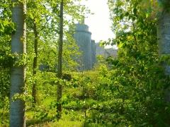 Château de la Hunaudaye - Français:   Château de la Hunaudaye (Plédéliac) vu depuis les sentiers de randonnée de Pléven