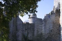 Château de la Hunaudaye - English: Château de la Hunaudaye