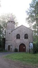 Abbaye de Boquen - Français:   Maison d\'entrée de l\'abbaye cistercienne de Boquen, dans les Côtes-d\'Armor