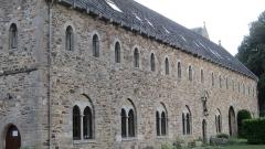 Abbaye de Boquen - Français:   Bâtiment des moines de l\'abbaye cistercienne de Boquen, dans les Côtes-d\'Armor