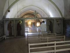 Abbaye de Boquen - Français:   Chapelle de l\'abbaye cistercienne de Boquen, dans les Côtes-d\'Armor