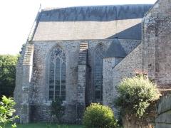 Abbaye de Boquen - Français:   Chœur gothique de l\'église abbatiale de l\'abbaye cistercienne de Boquen, dans les Côtes-d\'Armor