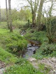 Abbaye de Boquen - Français:   Ruisseau situé au nord de l\'abbaye de Boquen