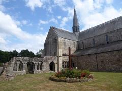Abbaye de Boquen - English: Chapter House, Abbaye de Boquen