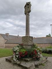 Croix du cimetière - Français:   Croix, rue de l\'Eglise
