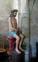 Eglise Saint-Pierre - Brezhoneg: Plougonver. Iliz. Krist hualet