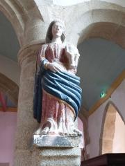 Eglise Saint-Milliau - Français:   Notre-Dame de Grâces - 13e siècle - église de Ploumilliau - Côtes d\'Armor (Fr)
