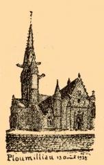 Eglise Saint-Milliau - Brezhoneg: Plouilio. Iliz. La Messelière