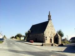 Chapelle Notre-Dame de Bon-Voyage et son oratoire - Brezhoneg: Plounerin. Beaj-Mat. 1