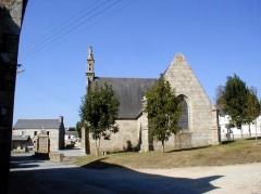 Chapelle Notre-Dame de Bon-Voyage et son oratoire - Brezhoneg: Plounerin. Beal-Mat. 3