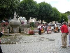 Fontaine -  Festival de musique mécanique de Pontrieux, 2009, la fontaine
