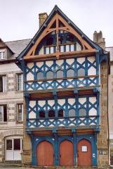 Maison du 16e siècle -  France Bretagne Côtes d'Armor Maison de la Tour Eiffel à Pontrieux  Photographie prise par GIRAUD Patrick