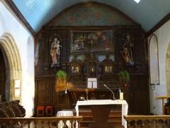 Eglise Saint-Hervé et son placître - Brezhoneg: Kemperven. Iliz. Aoter 1