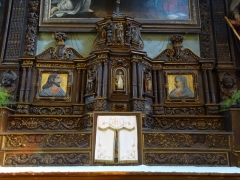 Eglise Saint-Hervé et son placître - Brezhoneg: Kemperven. Iliz. Aoter 2