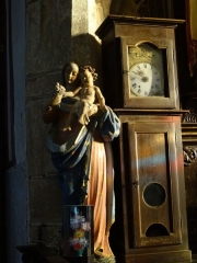 Eglise Saint-Hervé et son placître - Brezhoneg: Kemperven. Iliz. Gwerc'hez he bugel