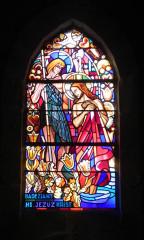 Eglise Saint-Michel - Brezhoneg: Lokmikael-an-Traezh. Iliz. Gwerenn-livet. Badeziant
