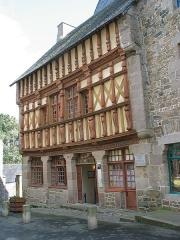 Maison d'Ernest Renan, acutellement musée Renan -  Maison musée Ernest Renan à Tréguier (Bretagne)