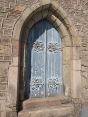 Couvent des Augustines (ancien Hôtel-Dieu) - Français:   Portail de la chapelle du couvent des Augustines (Tréguier)
