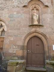 Couvent des Augustines (ancien Hôtel-Dieu) - Français:   Entrée de l\'ancien hôtel-Dieu construit en 1654. C\'est ici que vit actuellement la Communauté des Augustines