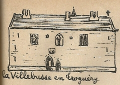 Manoir de Kerandraou ou de la Villebasse - Brezhoneg: Trogeri. Ker-Izel. Frotier de la Messelière