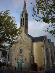 Eglise, dite église du Port ou église Saint-Thomas - Français:   L\'église Saint-Thomas-Beckett de Bénodet (près du port)