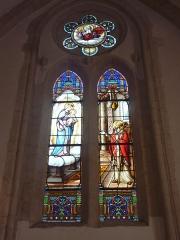 Eglise, dite église du Port ou église Saint-Thomas - Français:   Bénodet: église Saint-Thomas-Beckett, vitrail