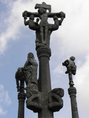 Chapelle Saint-Vennec - Français:   Calvaire de la c8hapelle Saint-Venec de Briec (29).