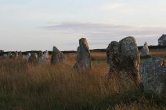 Alignements mégalithiques du Toulinguet - English: Lagatjar Stone Rows at Camaret-sur-Mer