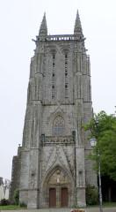 Ancienne église de Saint-Tremeur - Brezhoneg: Karaez, iliz katolik Sant treveur