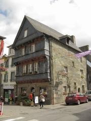 Maison du 16e siècle, dite maison du Sénéchal - Nederlands: Maison du Sénécha, Rue Brizeux, Carhaix