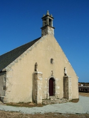 Chapelle de Saint-They -  Kleine Kapelle am Pointe du Van in der Bretagne