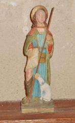Eglise Saint-Hilaire - Français:   Clohars-Fouesnant: église paroissiale Saint-Hilaire, statue de Saint-Roch.