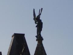 Château de Kériolet -  statue archange Gabriel