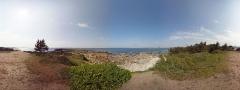 Fort du Cabellou -  Pointe et fort du Cabellou, (panorama à 360°)