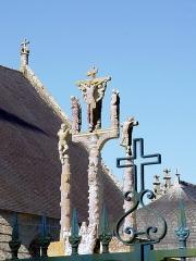 Chapelle Notre-Dame de Kerdevot - Deutsch: Ergué-Gabéric (Bretagne, Finistère) Calvaire.