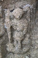 Eglise Saint-Onneau - Français:   Saint Onneau, sculpture