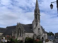 Eglise Notre-Dame d'Izel Vor - Notre-Dame d'Izel-Vor est l'église paroissiale de La Forêt-Fouesnant du département du Finistère, dans la région Bretagne, en France.