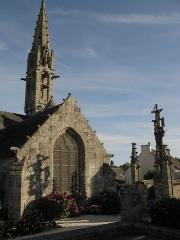 Eglise Notre-Dame d'Izel Vor - English: Church