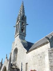 Eglise Notre-Dame d'Izel Vor - La Forêt-Fouesnant: l'église paroissiale Notre-Dame d'Izel Vor, vue partielle
